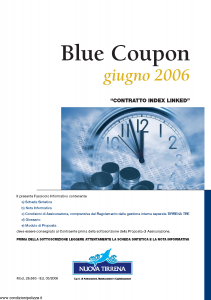 Nuova Tirrena - Blue Coupon Giugno 2006 - Modello 26.663 Edizione 05-2006 [50P]