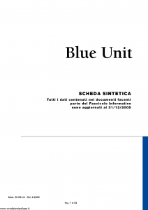 Nuova Tirrena - Blue Unit - Modello 26.591-a Edizione 04-2006 [54P]