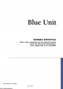 Nuova Tirrena - Blue Unit - Modello 26.591-a Edizione 04-2007 [54P]