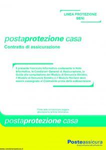 Poste Assicura - Posta Protezione Casa - Modello 0005 Edizione 04-2010 [36P]