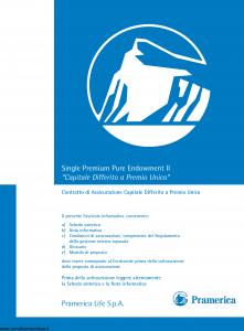 Pramerica - Capitale Differito A Premio Unico - Modello nipures Edizione 04-2007 [47P]