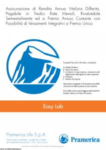 Pramerica - Easy Lab - Modello el Edizione 06-2013 [42P]