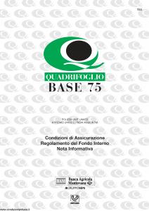 Quadrifoglio - Base 75 - Modello s70337-moass0064 Edizione 03-2004 [20P]