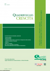 Quadrifoglio - Crescita - Modello s70377-moass0093 Edizione 03-2007 [32P]