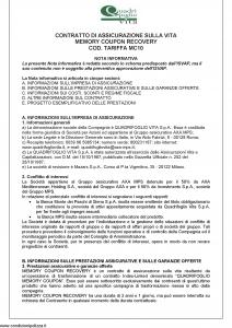 Quadrifoglio - Memory Coupon Recovery - Modello axc-mc-mc10 Edizione 09-2010 [26P]