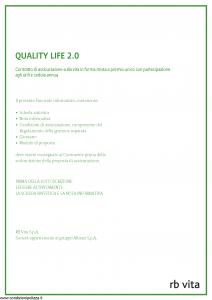 Rb Vita - Quality Life 2.0 - Modello 8008 Edizione 09-2011 [44P]