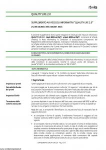 Rb Vita - Quality Life 2.0 - Modello 8022 Edizione 12-2011 [6P]