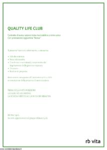 Rb Vita - Quality Life Club - Modello 7340 Edizione 07-2010 [56P]