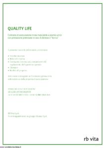 Rb Vita - Quality Life - Modello 7339 Edizione 03-2009 [46P]