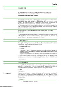 Rb Vita - Valore 2.0 - Modello 8024 Edizione 12-2011 [6P]
