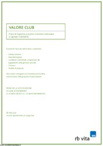 Rb Vita - Valore Club - Modello 7342 Edizione 03-2006 [44P]