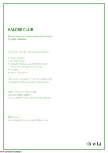 Rb Vita - Valore Club - Modello 7342 Edizione 03-2009 [44P]