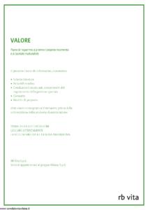 Rb Vita - Valore - Modello 7328 Edizione 03-2009 [52P]
