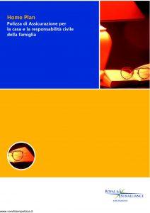 Royal&Sunalliance - Home Plan Assicurazione Casa E Responsabilita' Civile Famiglia - Modello 1297 Edizione 07-2005 [46P]