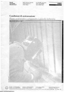 Sapa - Piano Assicurativo Artigianato E Piccola Industria - Modello p-2232 Edizione 12-1992 [36P]