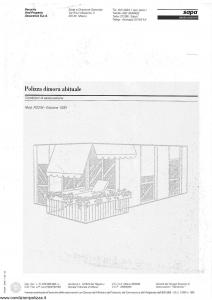 Sapa - Polizza Dimora Abituale - Modello p-2234 Edizione 12-1991 [SCAN] [6P]