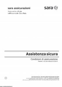 Sara - Assistenza Sicura - Modello 60tla Edizione 03-2014 [14P]