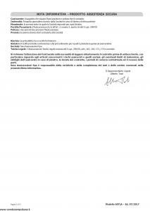 Sara - Assistenza Sicura - Modello 60tla Edizione 07-2017 [15P]