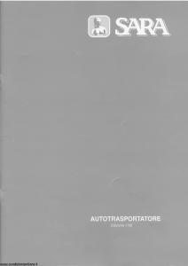 Sara - Autotrasportatore - Modello 21-tra Edizione 01-2002 [28P]