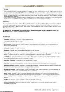 Sara - Infortuni Comulativa - Modello 61ic Edizione 03-2011 [25P]
