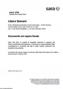 Sara - Libero Domani - Modello v394d Edizione 10-2018 [7P]