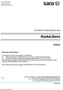 Sara - Ruota Libera - Modello 60rl Edizione 03-2014 [32P]