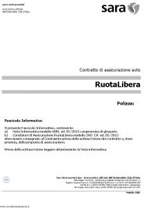 Sara - Ruota Libera - Modello 60rl Edizione 05-2013 [30P]