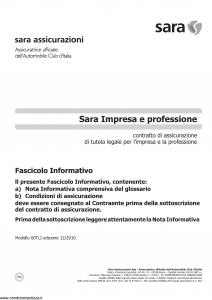 Sara - Sara Impresa E Professione - Modello 60tli Edizione 12-2010 [12P]
