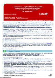 Sara - Saradanaio Tariffa 507 Dip Aggiuntivo - Modello v388 Edizione 01-01-2019 [7P]