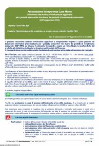 Sara - Saratutelapronta A Capitale E A Premio Annuo Costante Dip Aggiuntivo - Modello v392d Edizione 01-01-2019 [6P]
