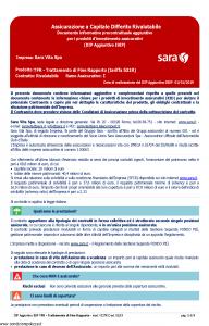 Sara - Tfr Trattamento Di Fine Rapporto Tariffa 531R Dip Aggiuntivo - Modello v327r Edizione 01-01-2019 [5P]