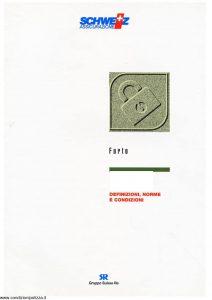 Schweiz - Furto - Modello ae50n01 Edizione 01-1994 [19P]