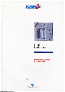 Schweiz - Globale Fabbricati Definizioni Norme E Condizioni - Modello ae05n01 Edizione nd [SCAN] [17P]