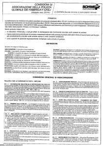 Schweiz - Polizza Globale Fabbricati Civili - Modello 231 Edizione 1991 [SCAN] [4P]