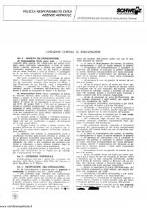 Schweiz - Polizza Responsabilita' Civile Aziende Agricole - Modello 35 Edizione nd [SCAN] [4P]