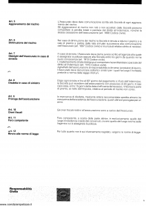 Schweiz - Responsabilita' Civile - Modello ae20n01 Edizione nd [SCAN] [37P]