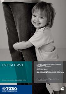 Toro - Capital Flash - Modello cb001109.511 Edizione 30-04-2011 [30P]