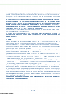 Toro - Capital Plus Contratto Di Assicurazione Sulla Vita Di Puro Rischio - Modello cb001112.407 Edizione 30-04-2007 [40P]