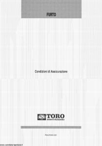 Toro - Furto - Modello pb53f600.o01 Edizione 2001 [4P]