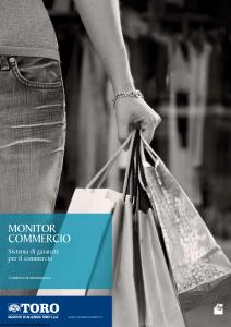 Toro - Monitor Commercio Sistema Di Garanzie Per Il Commercio V1 - Modello pb59c200.108 Edizione 2008 [50P]