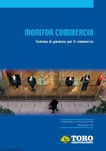 Toro - Monitor Commercio Sistema Di Garanzie Per Il Commercio V2 - Modello pb59c200.108 Edizione 2008 [50P]