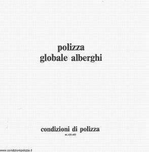 Toro - Polizza Globale Alberghi - Modello cb044420-683 Edizione 1983 [20P]