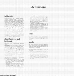 Toro - Polizza Globale Fabbricati - Modello pb044407.187 Edizione 1987 [15P]