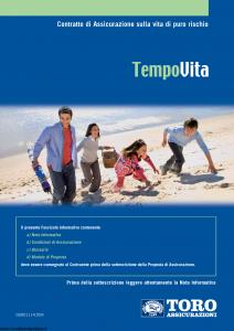 Toro - Tempovita - Modello cb001114.509 Edizione 30-04-2009 [34P]