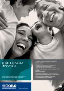 Toro - Toro Crescita Dinamica - Modello ar001305.311 Edizione 31-03-2011 [74P]