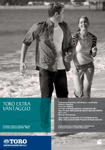 Toro - Toro Extra Vantaggio - Modello cb001254.511 Edizione 30-11-2011 [46P]