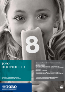 Toro - Toro Otto Protetto - Modello cb001189.511 Edizione 30-04-2011 [46P]