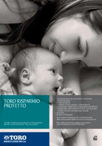 Toro - Toro Risparmio Protetto - Modello ar001304.513 Edizione 30-04-2013 [62P]