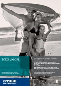 Toro - Toro Valore - Modello cb001365.511 Edizione 30-04-2011 [44P]