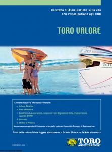 Toro - Toro Valore - Modello cb001365.606 Edizione 31-12-2006 [44P]